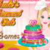 Un gteau pour l'anniversaire de Barbie