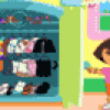 Jeux de fille : Dora's adventure dress-up