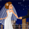Jeu de mariage : un couple  habiller