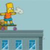 Jeux de fille avec Bart Simpson