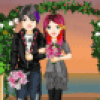 Jeu de fille : mariage emo  Hawaii