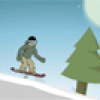 Sports d'hiver : snow board
