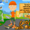 Jeux de sport : Crazy skateboard