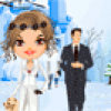 Mariage sous la neige