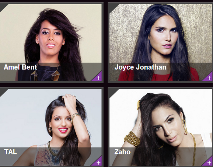 Les Nominés aux NRJ Music Awards