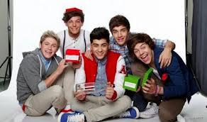 Les One Direction et Noël