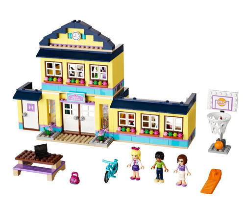L go friends cole de heartlake city - Lego friends l ecole ...