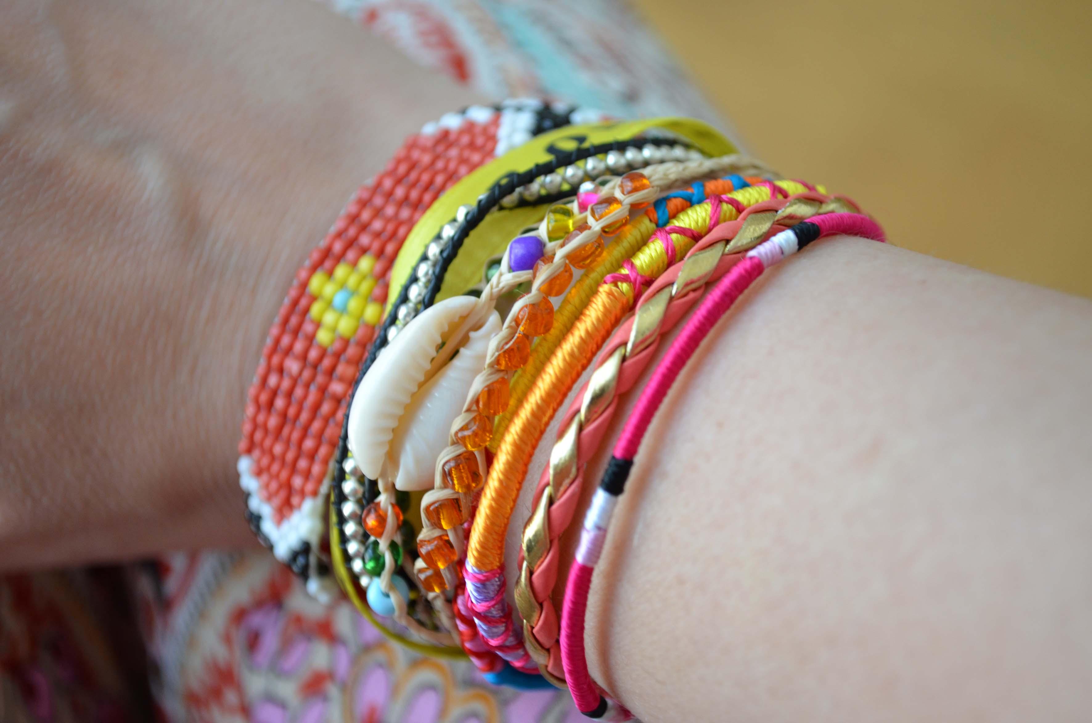 Bracelets style Hipanema
