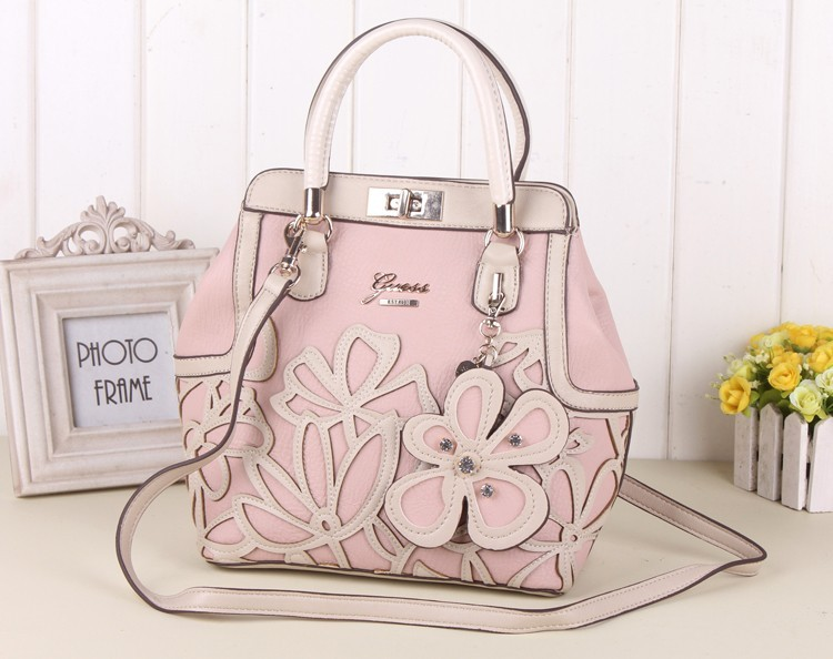 Sac à main Guess rose