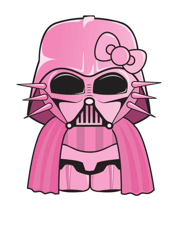 Hello Kitty En Dark Vador