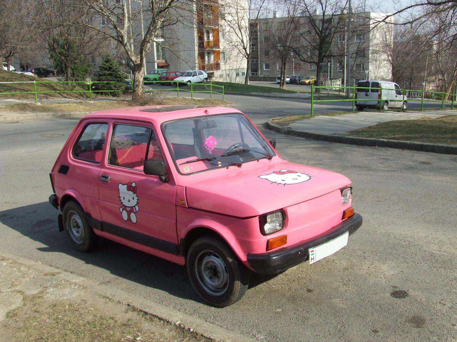 Fiat Hello Kitty