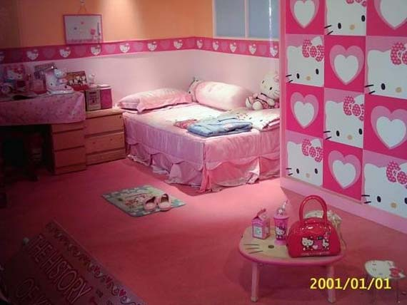 hello kitty bedroom - Decoration Hello Kitty Chambre