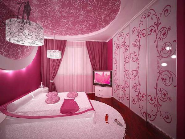 chambre de fille. Black Bedroom Furniture Sets. Home Design Ideas