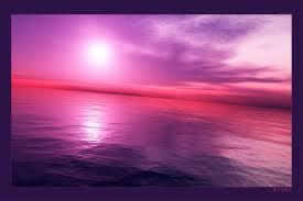 Coucher de soleil rose - Coucher de soleil rose ...