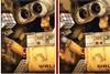 10 différences avec Wall-E