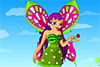 Fille papillon à habiller