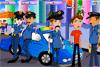 Romance entre policiers