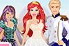 Barbie habillée en princesse pour son mariage