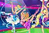 Concours de gymnastique pour Barbie