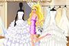 Au magasin de robes de mariées