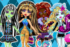 Monster High : jeux d'habillage