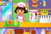 Dora serveuse au café