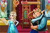 Bisous entre Anna et Kristoff