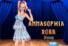 Tenue de scène pour Annasophia