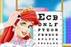 Rachel chez l'ophtalmologiste