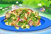 Salade de chou, asiatique