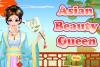 Reine de beauté asiatique