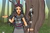Princesse aztèque à habiller