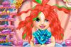 Coiffe bébé Ariel