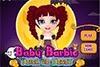 Fille de Barbie à Halloween