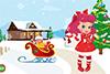 Baby Boo: décor de Noël
