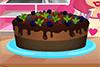 Gâteau au chocolat glacé