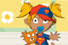 Bébé super-héros