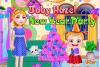 Bonne Année 2014 Bébé Hazel
