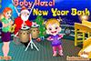 Le nouvel an de bébé Hazel
