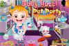 Bébé Hazel et ses animaux