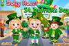 La Saint-Patrick de bébé Hazel