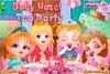 La tea party de bébé Hazel