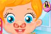 Nez de bébé Lizzie à soigner