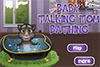 Le bain de bébé Tom