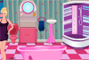 Salle de bain de Barbie à décorer