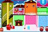 Décor de Noël dans maison de poupée