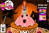 Gâteau Barbie d'Halloween