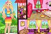 Maison de Barbie à décorer