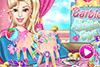 Manucure pour Barbie