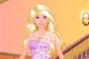 Barbie en robe de soirée